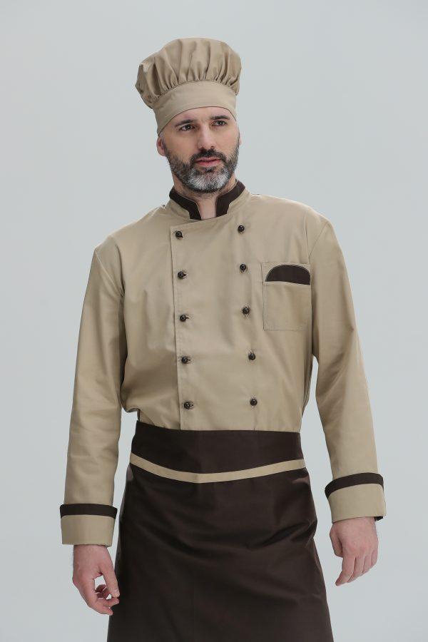 Kuvarska bluza Duga