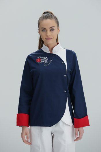 Kuvarska bluza Rose